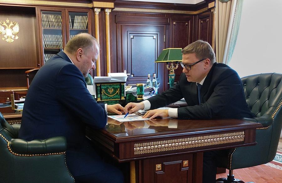 Алексей Текслер проинформировал Николая Цуканова о ситуации с коронавирусной инфекцией в регионе