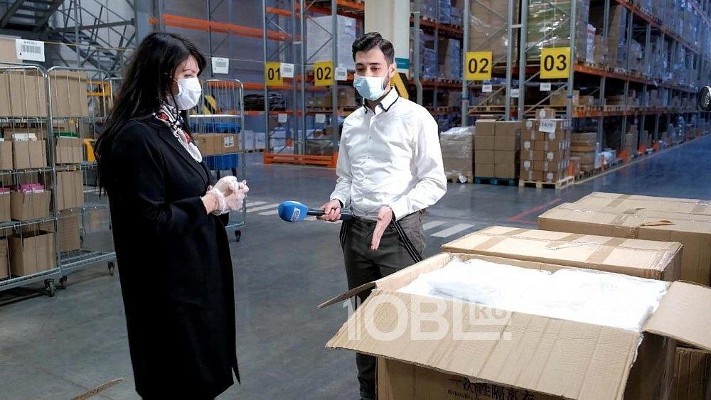 Партию масок от РМК доставили в Челябинскую область