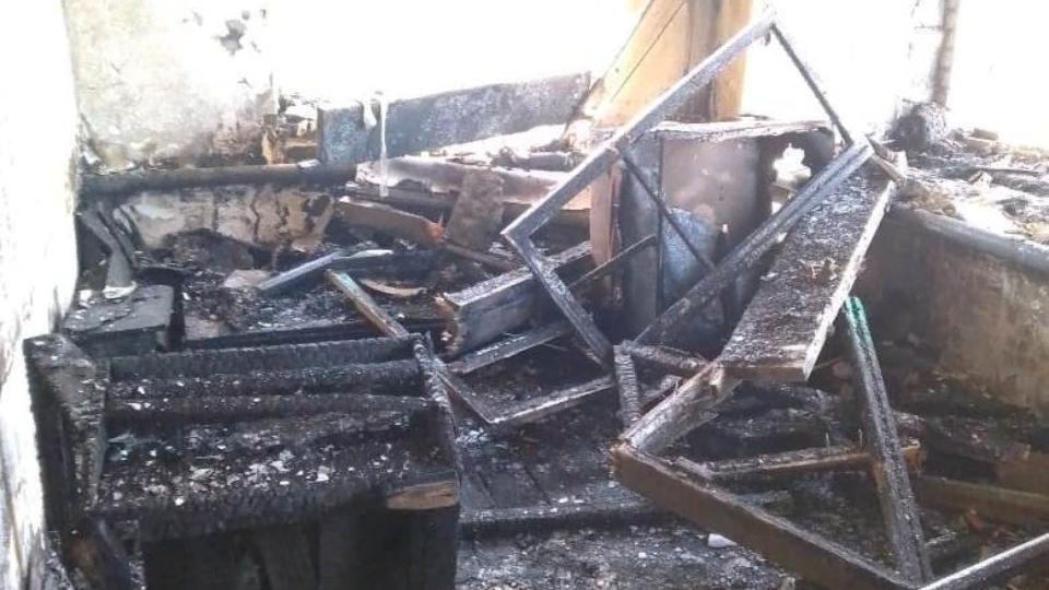 Человеческая беспечность стала причиной пожара и гибели женщины