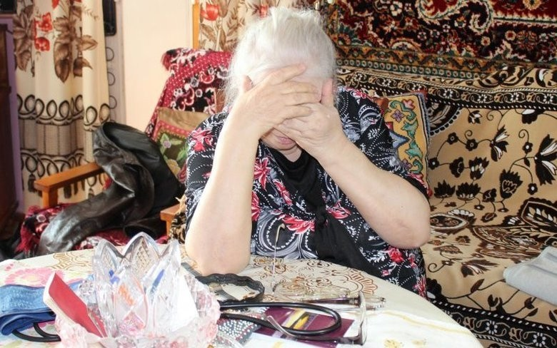 «Позаботилась» о бабушке»