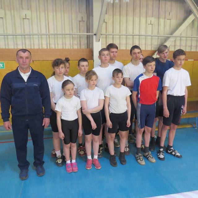 В Спартакиаде учащихся  гиревики вышли на четвертое место