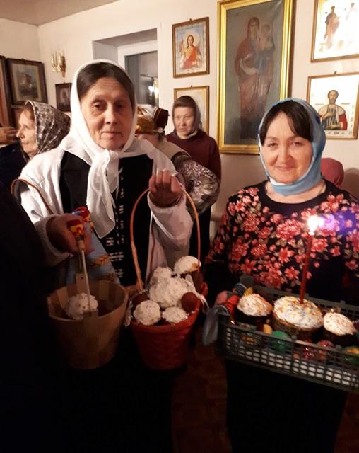Православные октябрьцы отметили Светлую Пасху