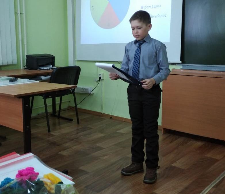 В районной конференции участвовал 21 школьник