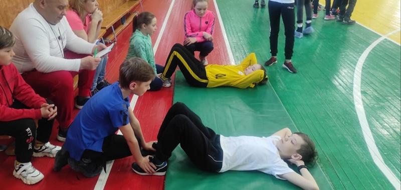 Юные спортсмены состязались в дисциплинах комплекса ГТО
