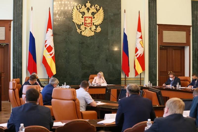 Состоялось очередное заседание региональной антитеррористической комиссии