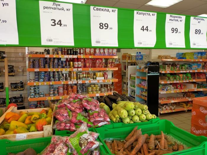 Сколько стоит «борщевой набор» в магазинах района?