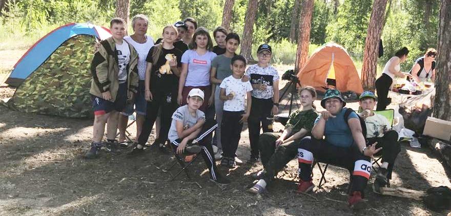 Лесные приключения 5 «А» класса